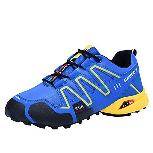 JUNMAONO Herren Sneaker Laufschuhe Sportschuhe Straßenlaufschuhe Leicht Walkingschuhe Mesh Atmungsaktiv Low Flach Freizeitschuhe Reiseschuhe Running Turnschuhe Shoes 39-48