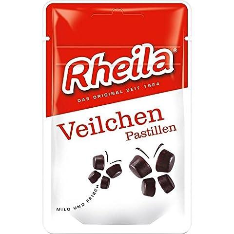 RHEILA Veilchen Pastillen mit Zucker 35 g