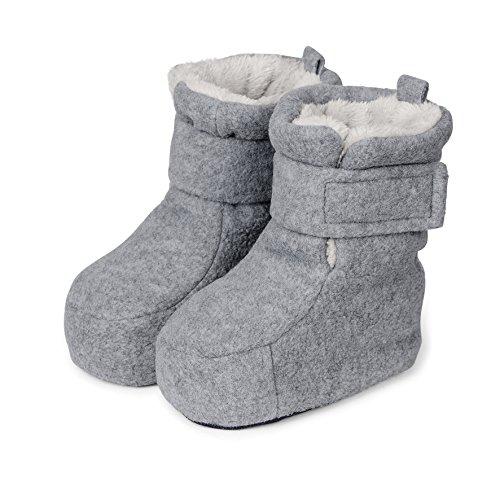 Bild von Sterntaler Unisex Baby Stiefel, Grau (Silber-Melange 542), 17/18 EU
