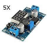 LaDicha 5X Regolatore Di Tensione Dc-Dc Lm2596 Regolabile Modulo Di Alimentazione Con Display