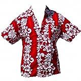 Chemise Hawaïenne Line - XXL, Rouge d'occasion  Livré partout en France