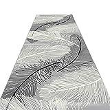 JIAJUAN Läufer Teppiche Flur Küche Lange Halle Teppich Rutschfest Weich Gemütlich Waschbar, 7mm, 2 Farben, Mehrere Längen, Anpassbare (Farbe : B, größe : 1x4m)