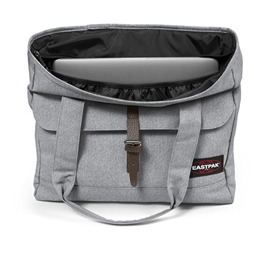 Eastpak Flail Borsa a Tracolla, 19 Litri, Blu (Midnight) Grigio (Sunday Grey)