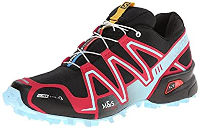 Salomon Women's Speedcross 3 CS Trail Running Shoe, Black