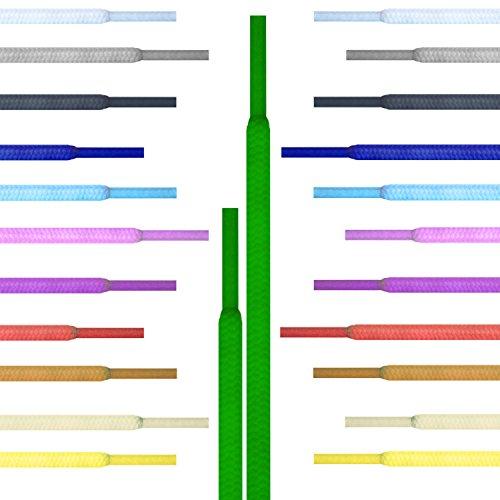 Runde Schnürsenkel Giftware Turnschuhe, Hi-tops Fußballschuhe Laces Schnürsenkel, geeignet für alle Marken, darunter Nike Adidas Gossip Puma Vans Reebok Dr Martens Erwachsene oder Kinder