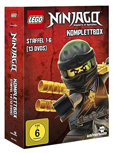 Lego Ninjago Komplettbox - Staffel 1-6 [13 DVDs] (Lego Nes)