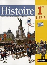 Histoire 1e L-ES-S : Programme 2003