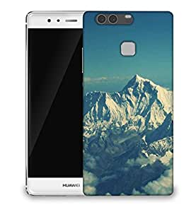 Snoogg Swiss alps beauty Designer Protective Back Case Cover For Huawei P9