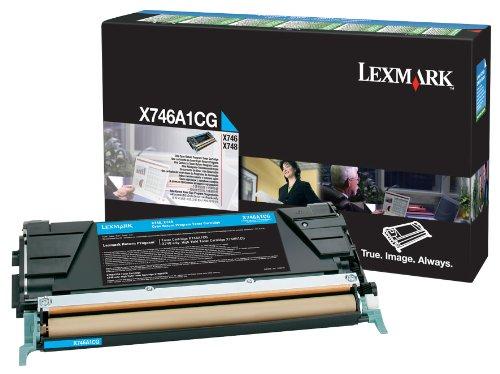 LEXMARK PB Toner X746,X748 7000 Seiten, cyan - 7k Toner Cyan