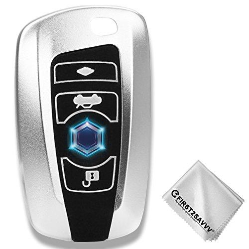 First2savvv Housse Protection Télécommande Clé Cover + trousseau Pour BMW X3 X 4 M5 M6 GT3 GT5 1 3 4 5 6 7 Series CAR-BMW-GJ-A16