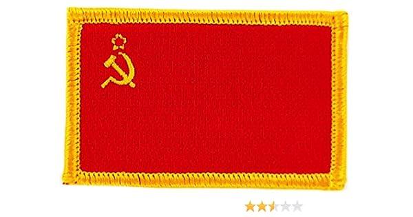 Patch /écusson brod/é drapeau urss cccp russie union sovietique thermocollant