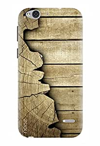 Noise Designer Printed Case / Cover for Lyf Water 2 / Patterns & Ethnic / Woody Plank