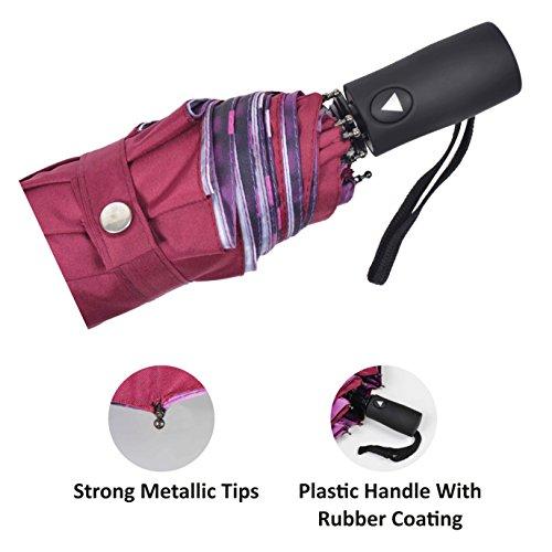MURANO Magenta Folding Umbrella (400080_A)