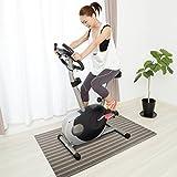 casa pura Design Bodenschutzmatte Asti | Unterlegmatte für Fitnessgeräte | zuverlässiger Bodenschutz | 60x120cm
