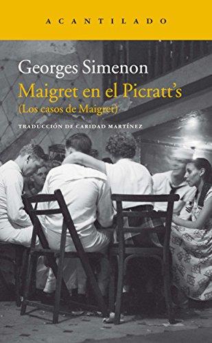 Maigret En El Picratt´S descarga pdf epub mobi fb2