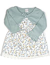 Vestido frutal y jersey a juego para bebé niña 547eabbed16