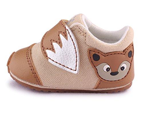 cartoonimals Babyschuhe Mädchen Jungen Neugeborene Weiche Rutschsicheren Baby Kinder Schuhe Foxz Beige 20