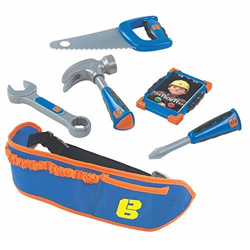 Simba Werkzeug-Gürtel | Bob der Baumeister | mit Vier Werkzeugen & Smartphone