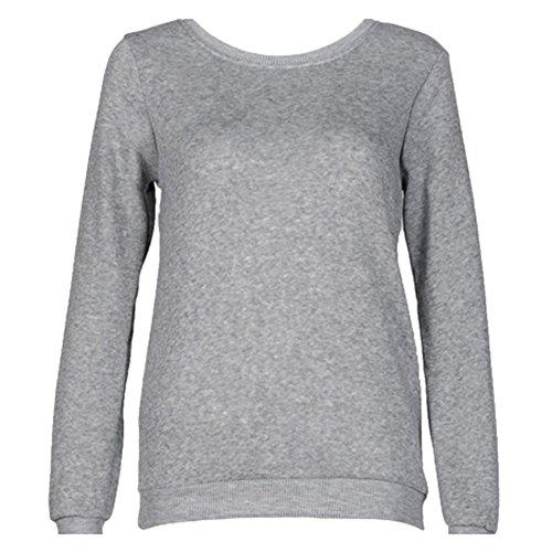 Blouses Sweatshirt Automne - Tops Manches Longues Printemps Tshirts Amants Sweatshirt Cadeau KING QUEEN S-2XL Yuxin QUEEN
