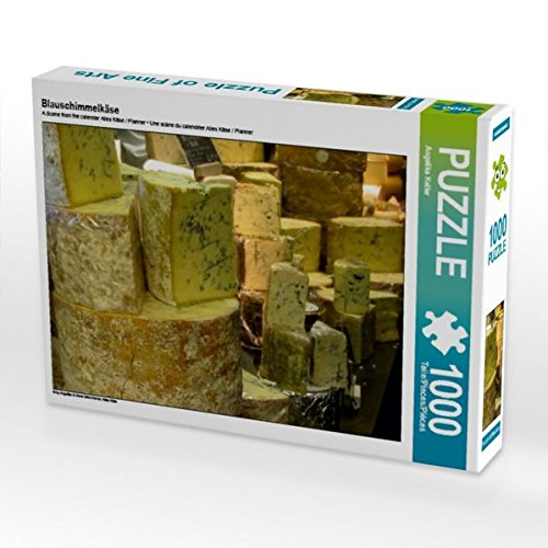 Blauschimmelkäse 1000 Teile Puzzle quer