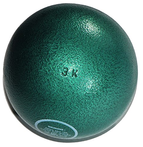 Stoßkugel für Wettkampf + Training 3,00 kg aus Gusseisen