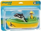 PLAYMOBIL 6739 - Fischerboot mit Wal