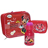 Disney Minnie Mouse Kindertasche m. Lunch Box + Trinkflasche Kindergartentasche 553-43253