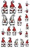 Weihnachten Weihnachtswichtel Nail Art Nail Tattoo Nagelsticker - 00639