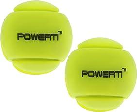 MagiDeal 2 Stück Tennisschläger Schwingungsdämpfer Tennis Squash Schläger Vibration Dampenersk, Silikon
