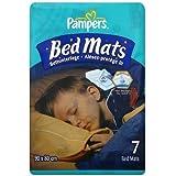 Pampers Bed Mats Compact Bag (3 Packs of 7, Total 21 Mats) by PROCTER & GAMBLE (HBCATT) EDI