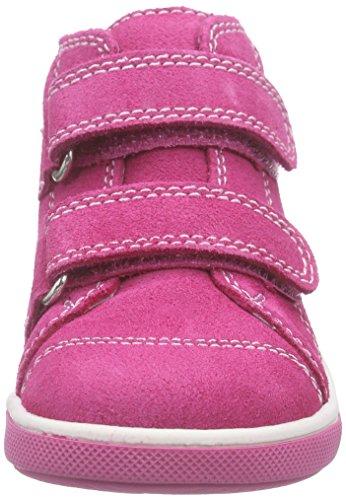 Richter Kinderschuhe Sing, Baskets premiers pas bébé fille Rose - Pink (fuchsia/panna  3501)