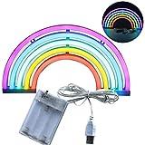 specificazione Materiale: insegne al neon in plastica + LED Lampadina: led Potenza: 3W Alimentazione: 3 * batterie AA (non incluse) Applicazione: Uso interno e esterno della porta, decorazioni per la casa o le vacanze. C'è un buco diet...