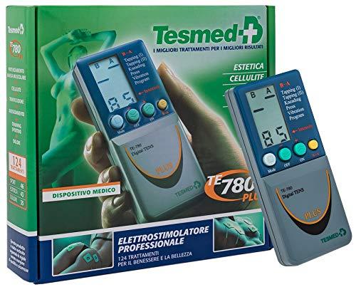 TESMED TE780 PLUS elettrostimolatore muscolare: sport,estetica,tens antidolori -2 canali - Utilizzo di...