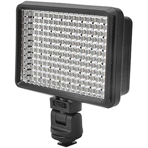 Luce Video Camera HONGDAK LED per Canon, Nikon, Pentax, Panasonic, Sony, Samsung, Olympus 192 Beads High Power Camera Kit di illuminazione - Video Balanced