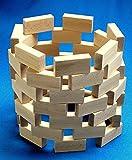 Beck 70 x 35 x 17,5 mm Frobel Bausteine (48, braun)