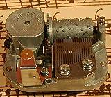 SUPERSTAR Spieluhren-Laufwerk 180020GM - Spielwerk (Schweiz) 18-Ton Laufwerk/Guter Mond (Spieluhr, Spieldose, Musikdose), komplett mit Einbau-Set