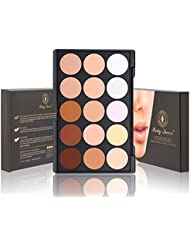 Party Queen 15 Couleurs Palette de maquillage Correcteur Contour visage