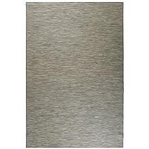IKEA HODDE alfombra tejida plana; Tanto para interiores como para raussen; En gris;