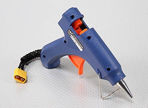 Heißklebepistole 12v für Lipo Akku Modellbau heizt ultra schnell auf von Modellbau Eibl