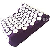 White Lotus Anti Aging Acupressure Pillow, The Acupressure Mat and Pillow Won Best Acupressure Mat Set Vergleich.org 2017, The Acupuncture Pillow Gives Stress Relief And Relieves Sleep Problems. The O
