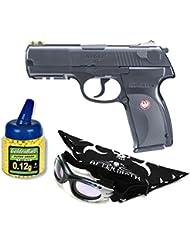 Umarex U25637. Pistola airsoft Ruger P345. Calibre 6mm. Funciona con botellas de Co2. 2 Julios de potencia.