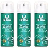 Uspray Toilet Seat Sanitizer - 50 Ml (Pack Of 3)