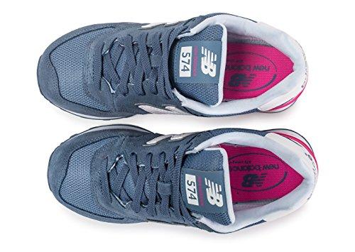 New Balance - Wl574cna, Scarpe da ginnastica Donna Bleu