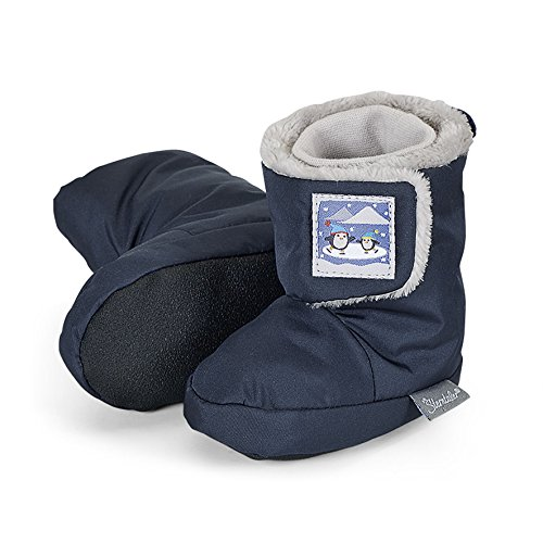 Sterntaler Schuh, Chaussons pour enfant bébé garçon Bleu - Blau (Marine 300)
