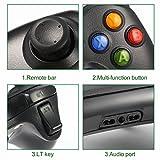 Gamepad, Controlador de Gamepad, ICOCO Xbox 360 Controlador común para Windows XP/7/8/10,Android (TV box / smartphone / tablet) y PS3