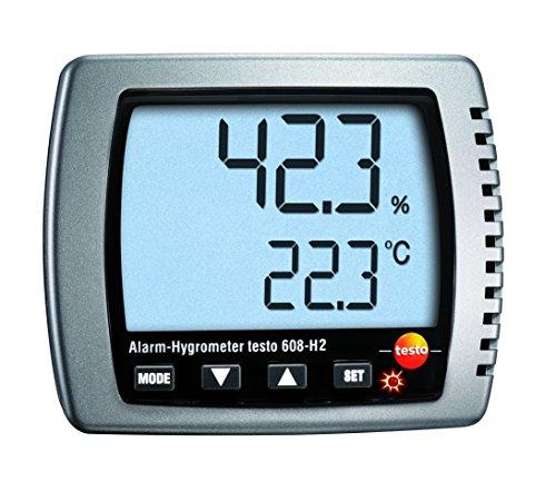 Testo 608 H2 Alarm Hygrometer Temperatur Messgerät Kalibrier Protokoll