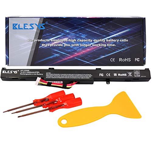 BLESYS Ersatz für Laptop Akku ASUS K751 K751L K751LA K751LAV K751LB K751LD K751LDV K751LJ K751LJC K751LK K751LN K751LX K751M K751MA K751MD K751MJ K751S K751SA K751SJ P750L P750LB A41-X550E Akku -