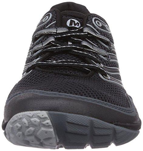 Merrell Trail Glove 3, Chaussures de trail homme Black/Light Grey