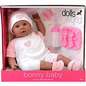 Dolls World Muñecas de la muñeca Mundo Bonny (Negro)