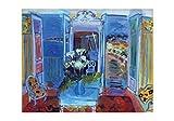 1art1® Set: Raoul Dufy, Interior Ventana Abierta Póster Impresión Artística (100x70 cm) con 1x Póster De Colección